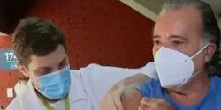 Imunizado, Tony Ramos diz que vacina não é cura, é prevenção
