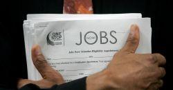 Criação de vagas de trabalho nos EUA fica bem abaixo da expectativa em abril